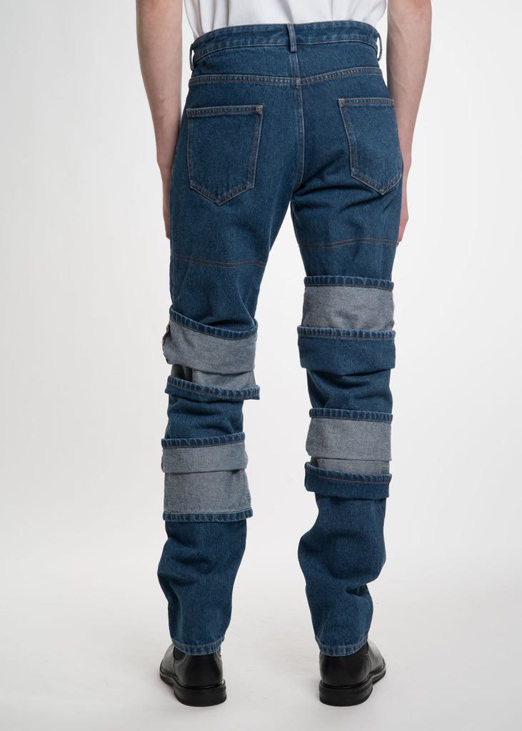 Navy Multi Layer Jean