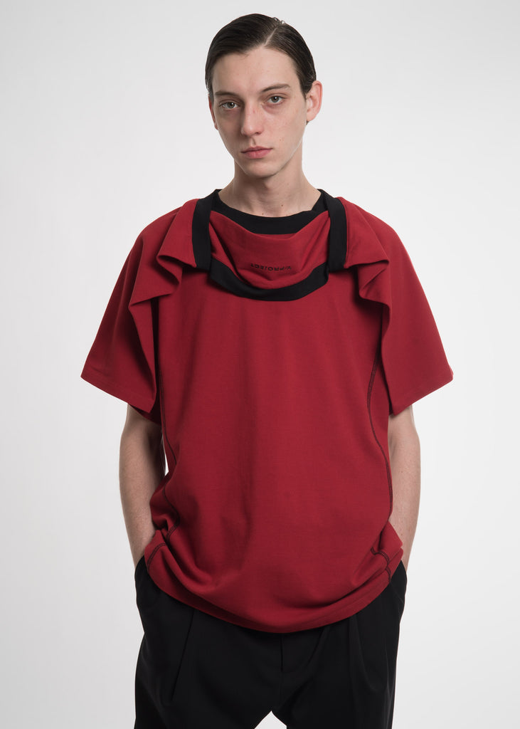 Red Double Layer T-Shirt