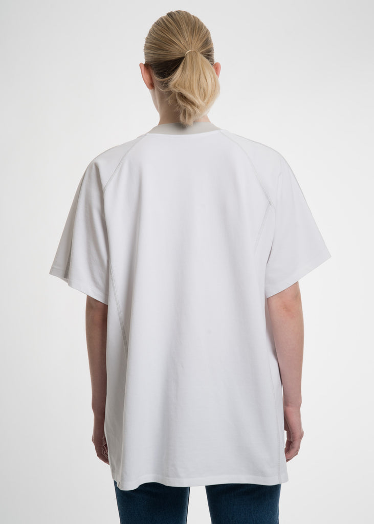 White Double Layer T-Shirt