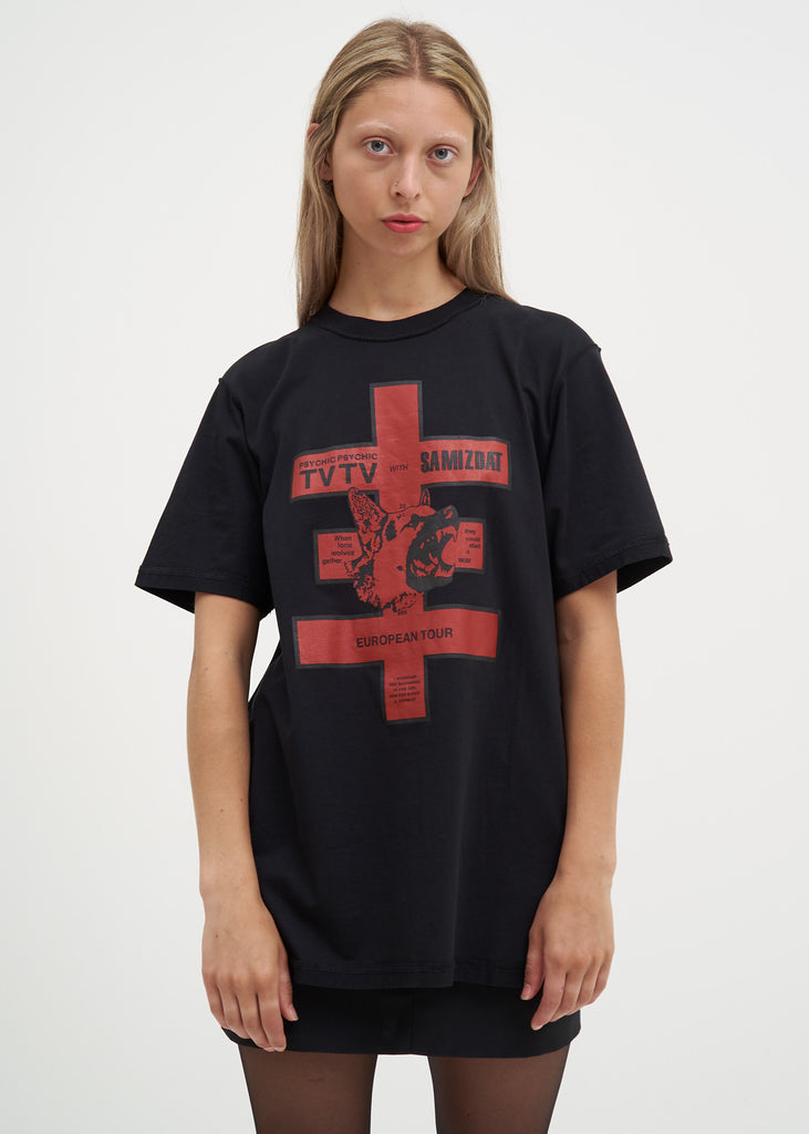 Black European Tour T-Shirt