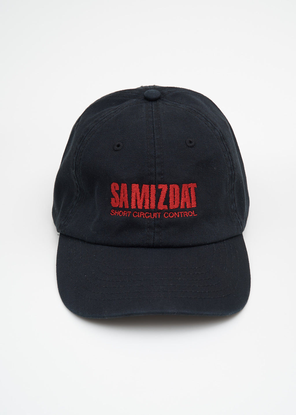 Black Red Short Circuit Cap