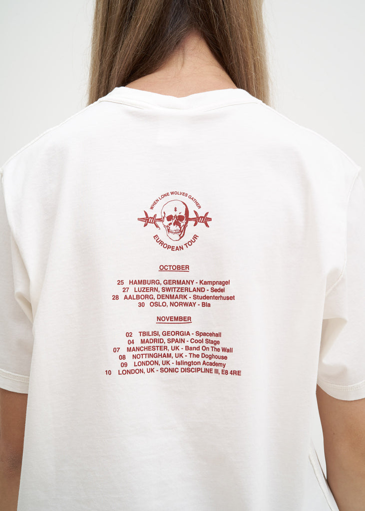 White European Tour T-Shirt