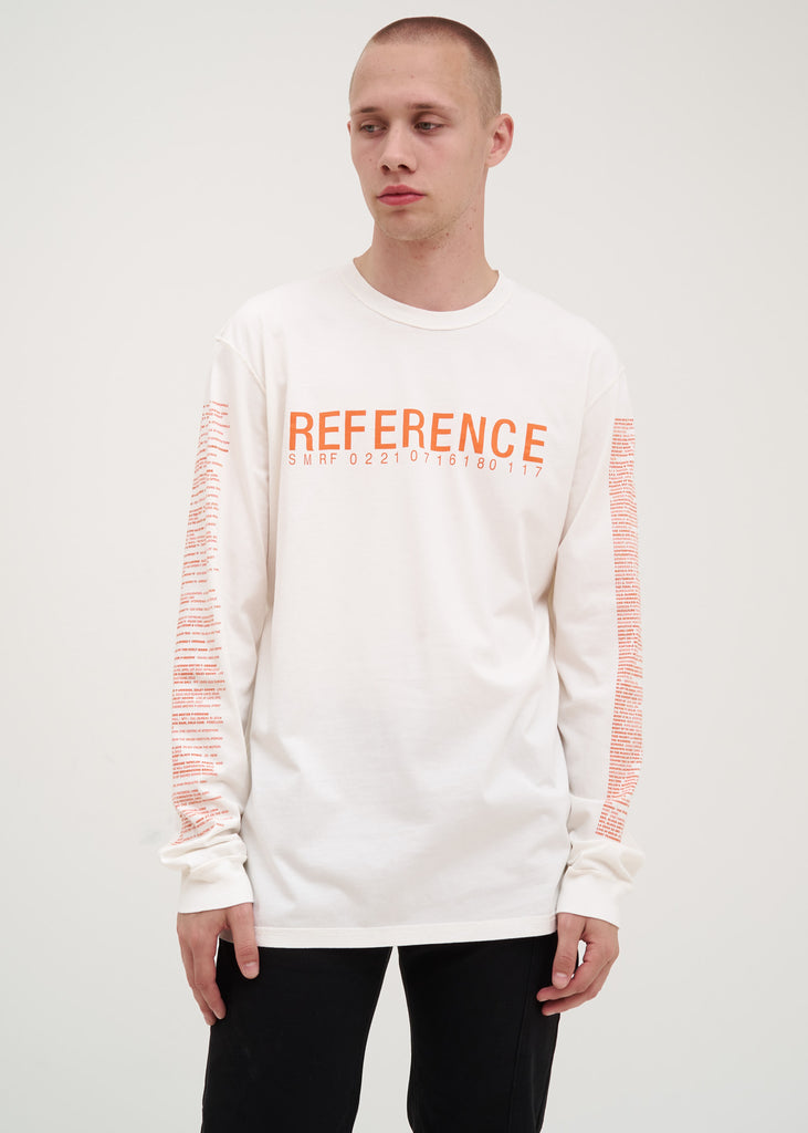 White Reference 4.0 Long Sleeve T-Shirt