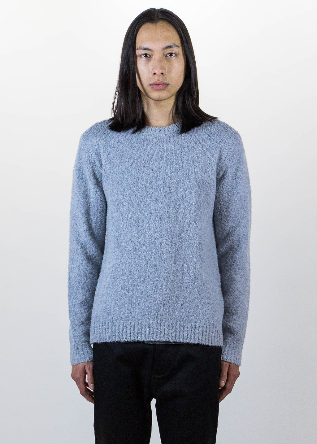Harmony, Grey Willie Knitted Sweater, 017 Shop