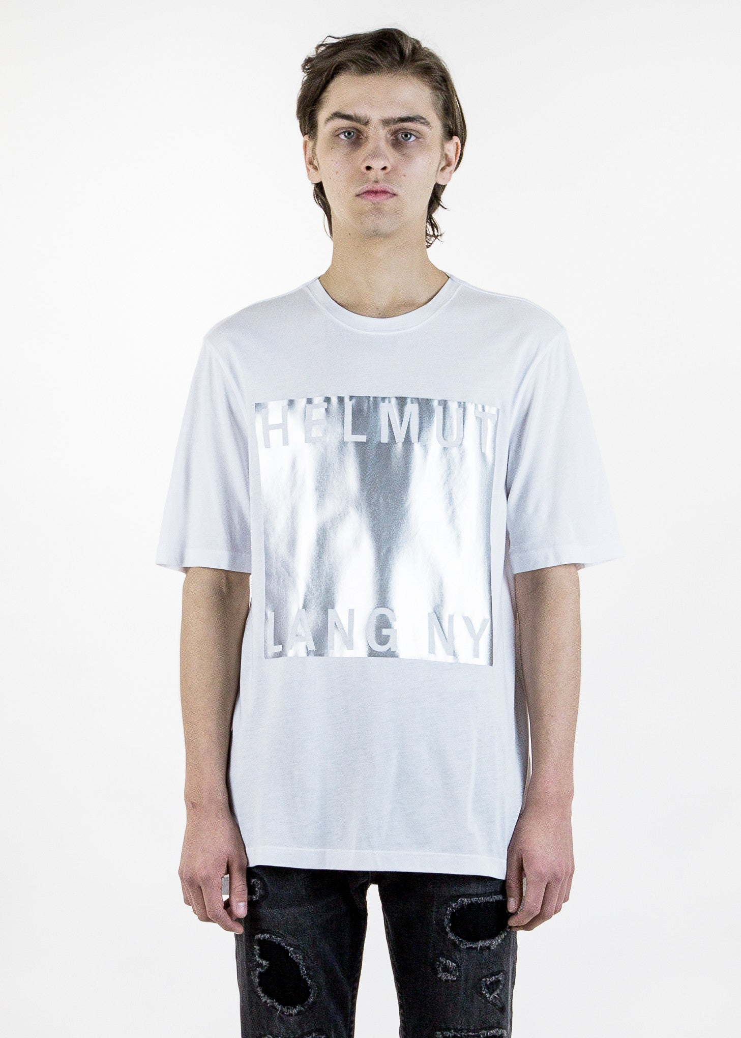 White Box Film Print T-Shirt