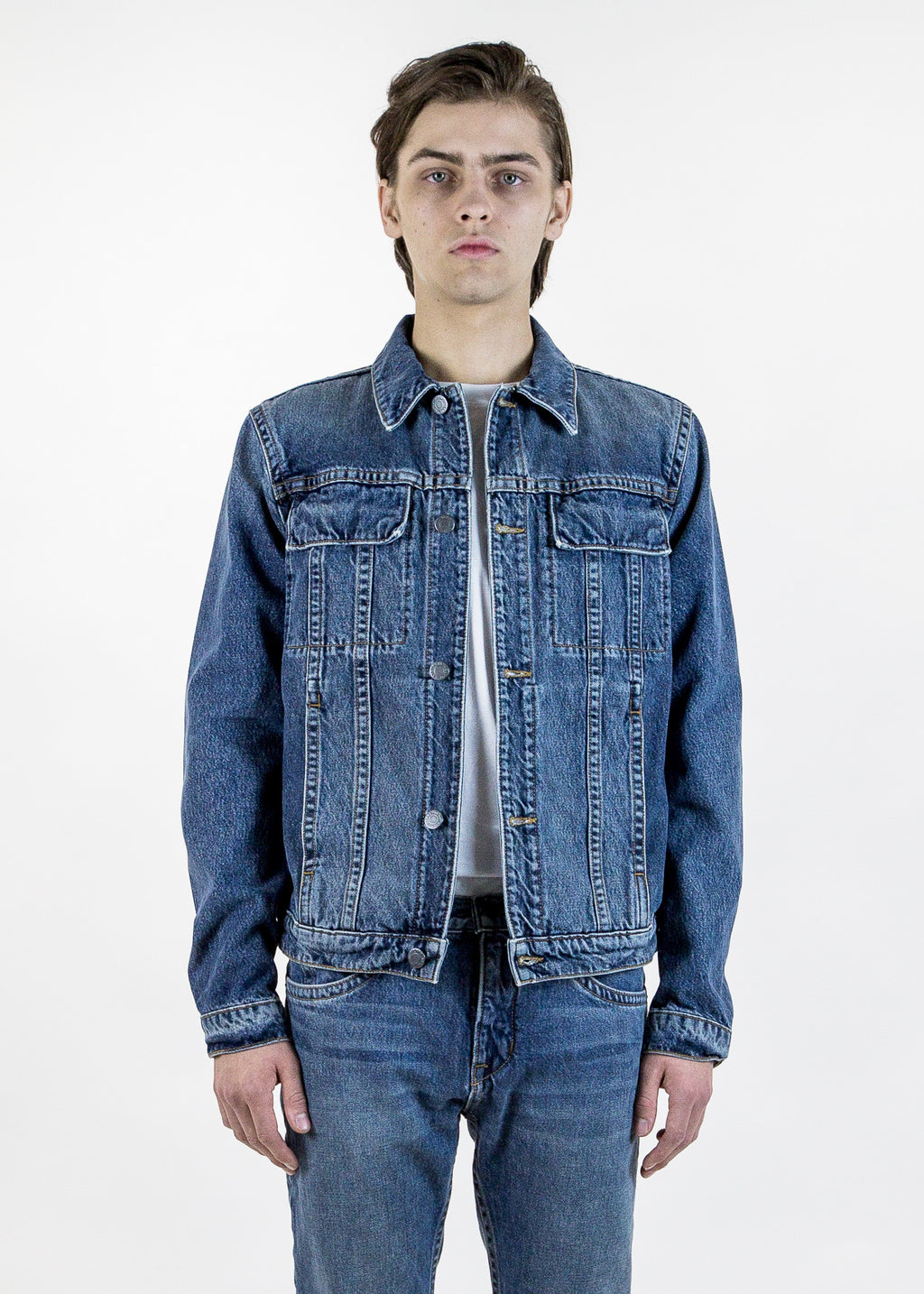 Mr 87 Heritage Indigo Jean Jacket