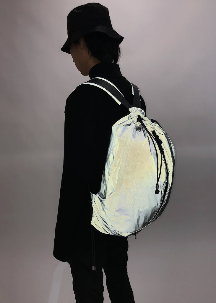 Dark Grey Reflective Backpack