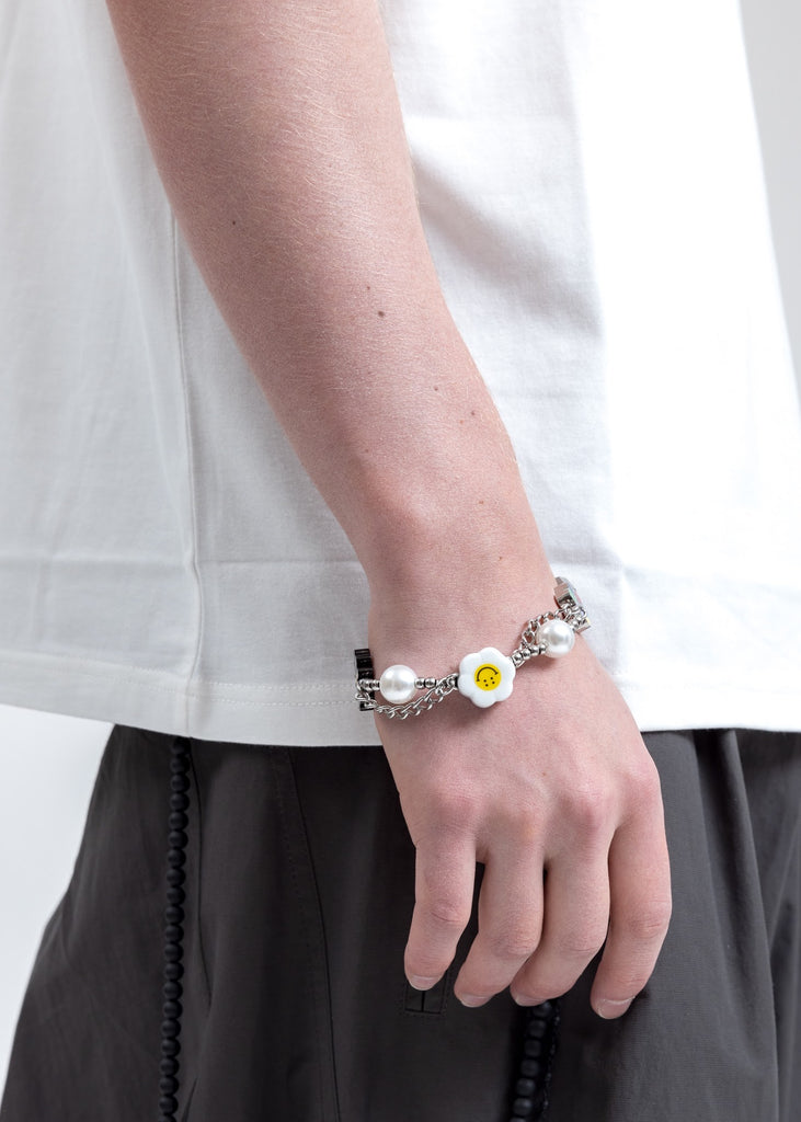 Flower And Smile Bracelet