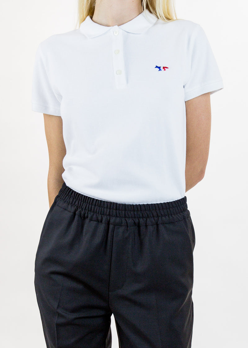 Tricolor Patch Polo