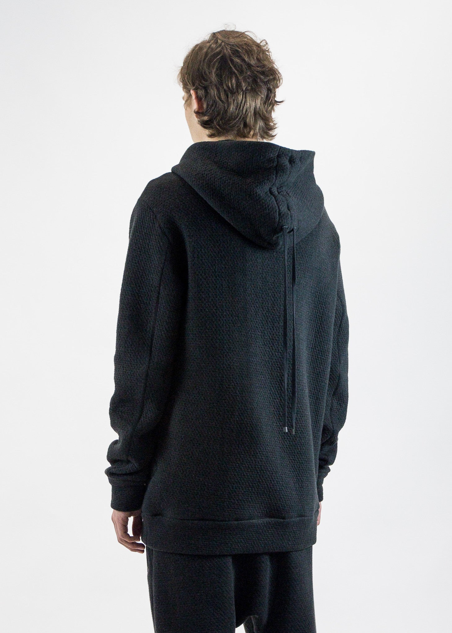 Helmut Lang Men's Pullover Hoodie Infiltrated Jersey