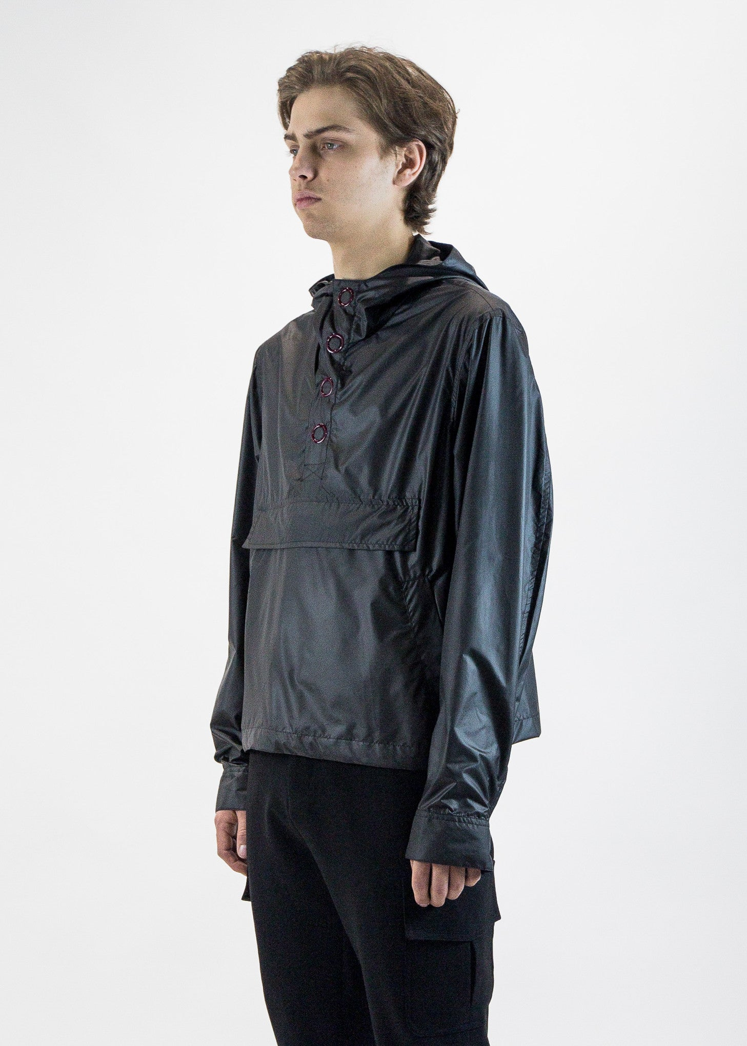 cmmn swdn mens black Ry Technical Anorak