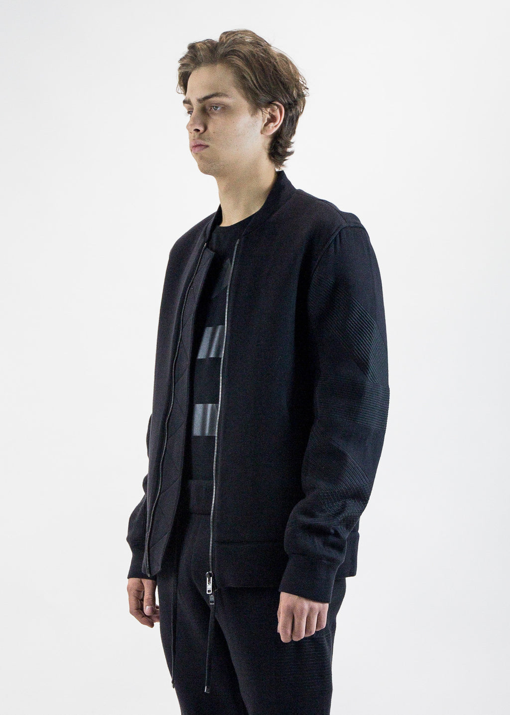 Helmut Lang Men's embroidered bomber