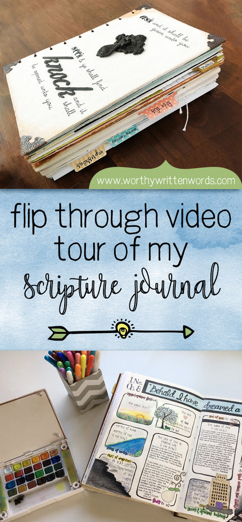 Peek Inside My Scripture Journal with a Video Flip Through Tour