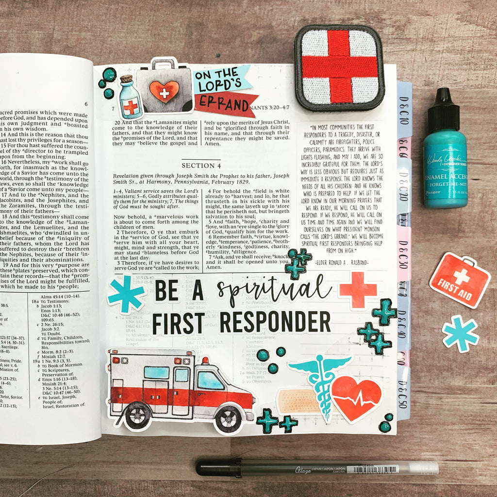 Spiritual First Responders Page Kit