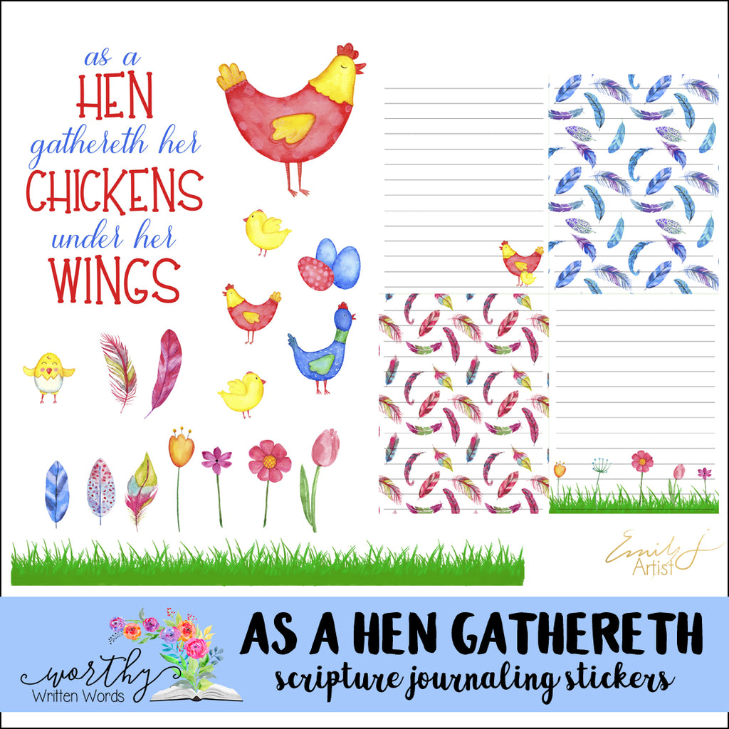 As a Hen Gathers
