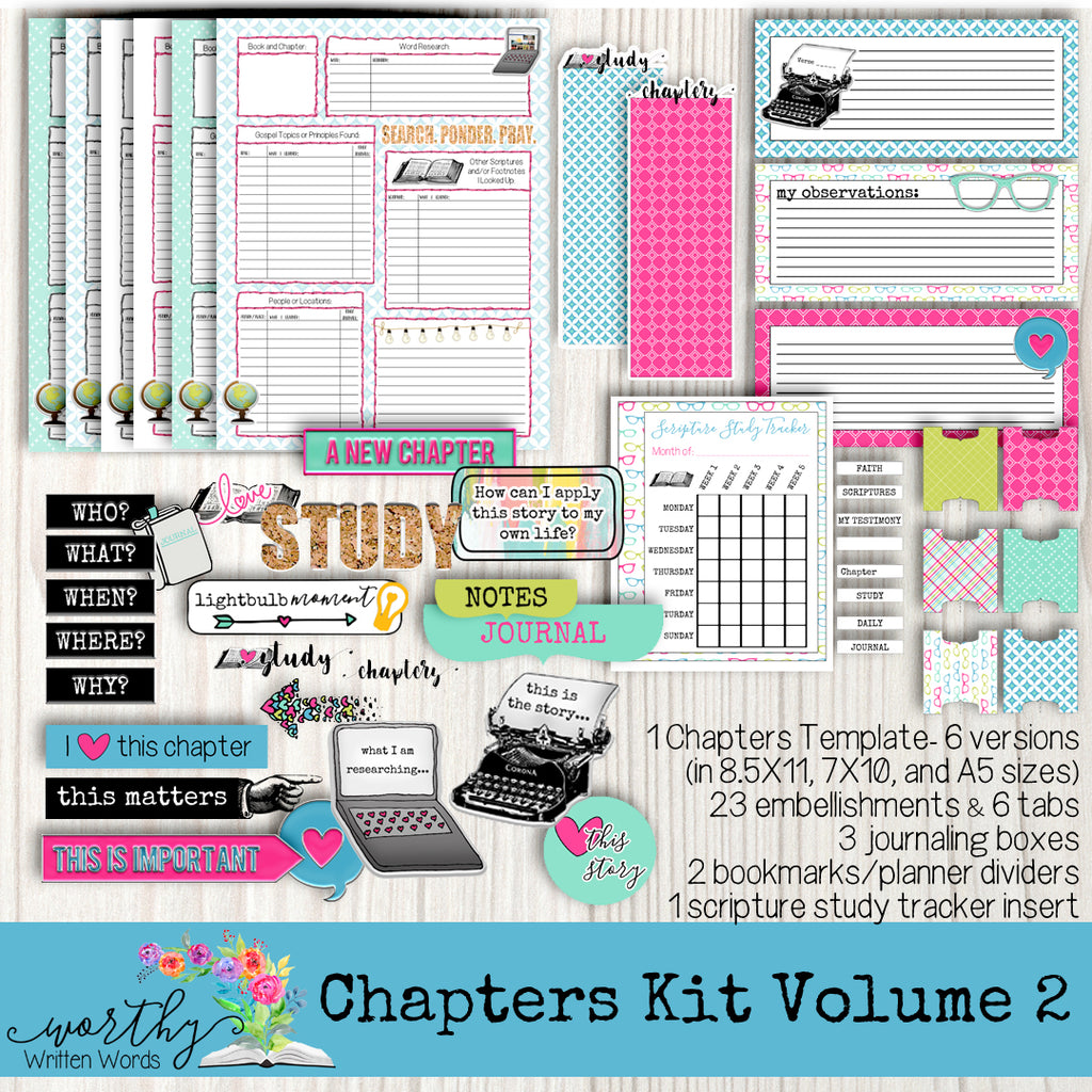 Chapters Kit Volume 2