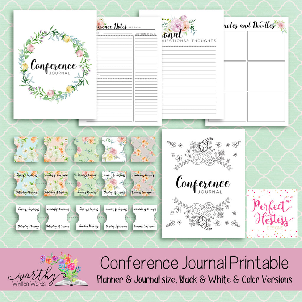 General Conference Journal Printable