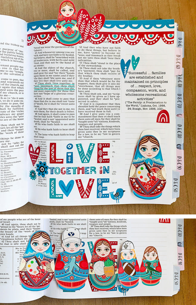 Live in Love Page Kit