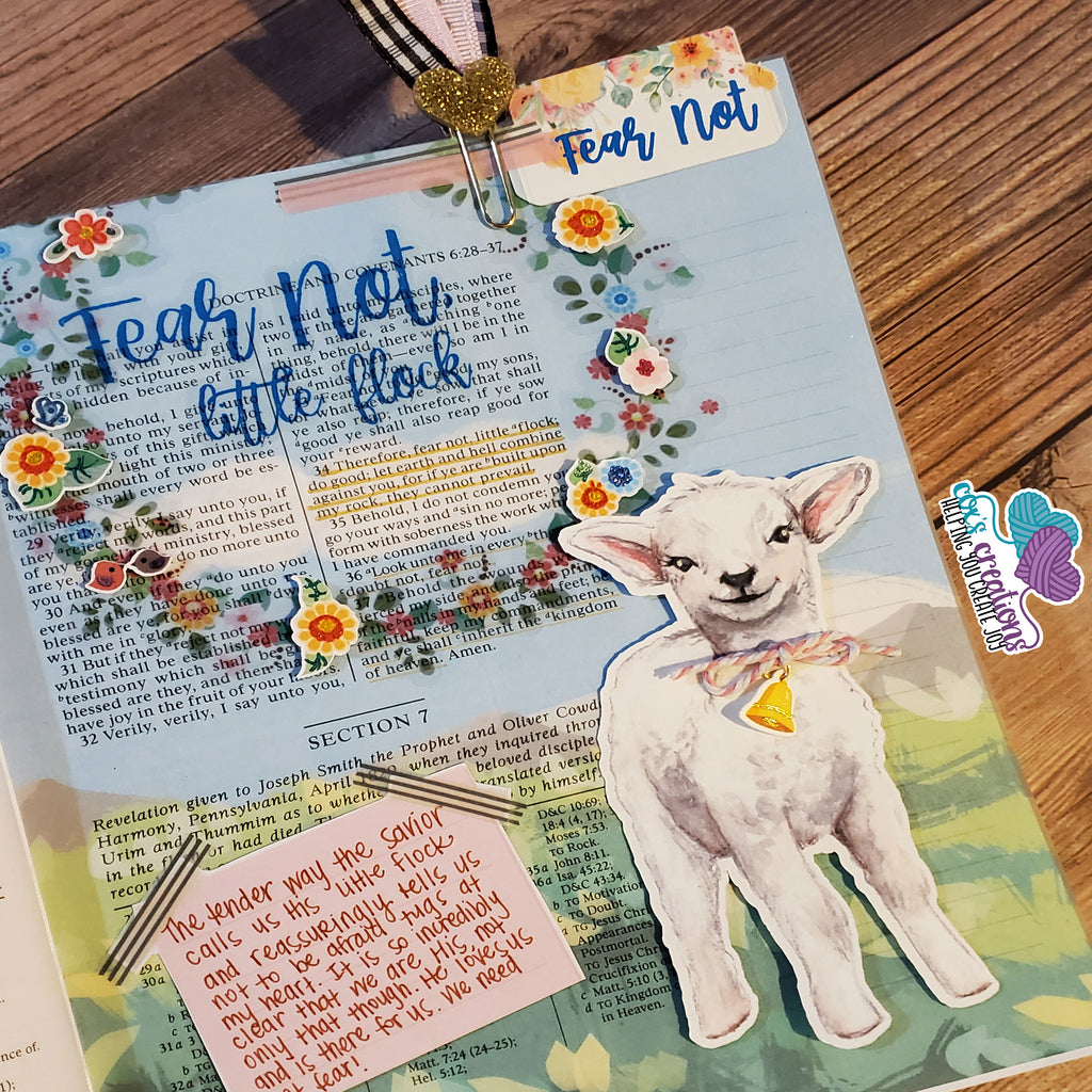 Fear Not Little Flock Page Kit