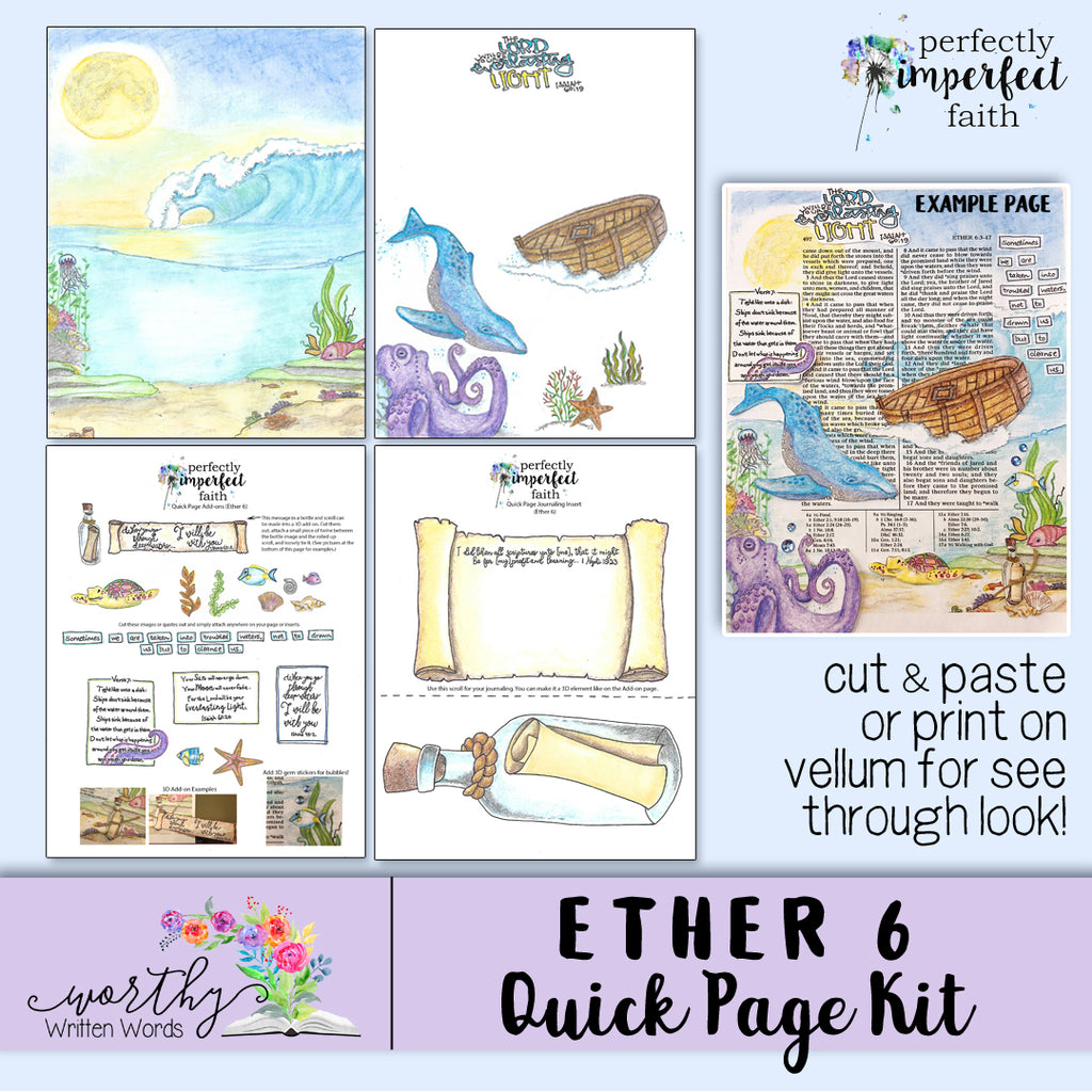 Ether 6 Quick Page Kit