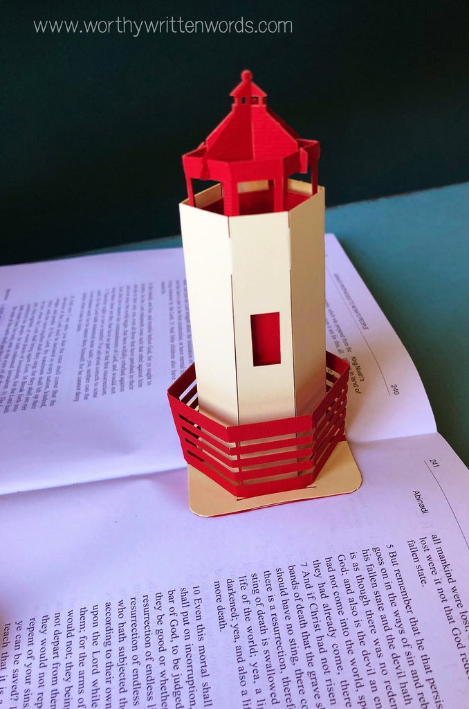 He is the Light - Lighthouse Pop Up