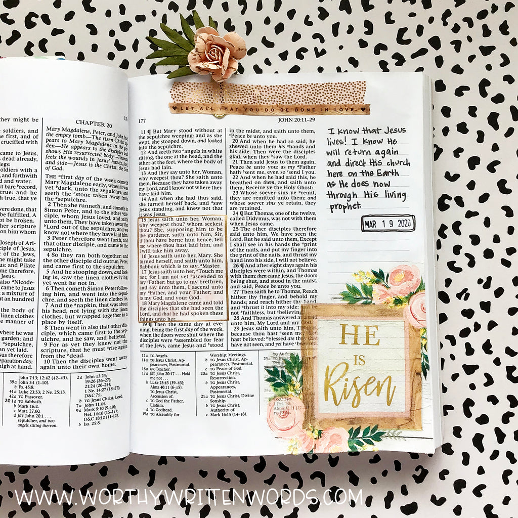 He is Risen Page Kit