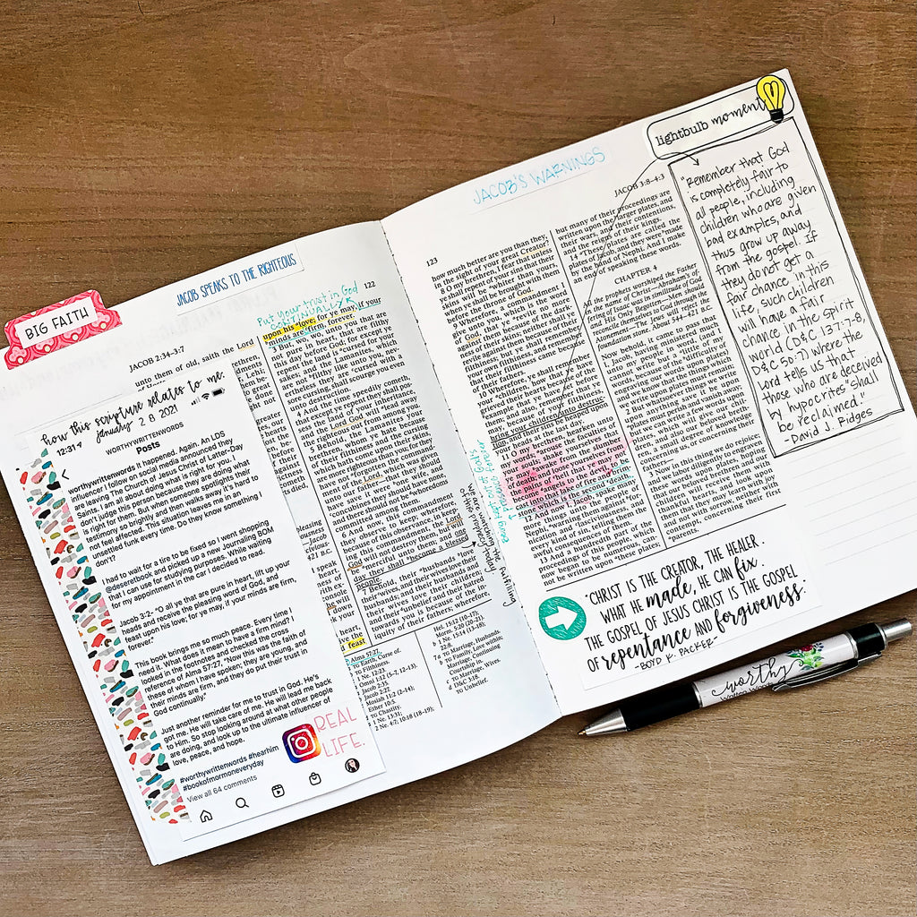 Scripture Study Stickers