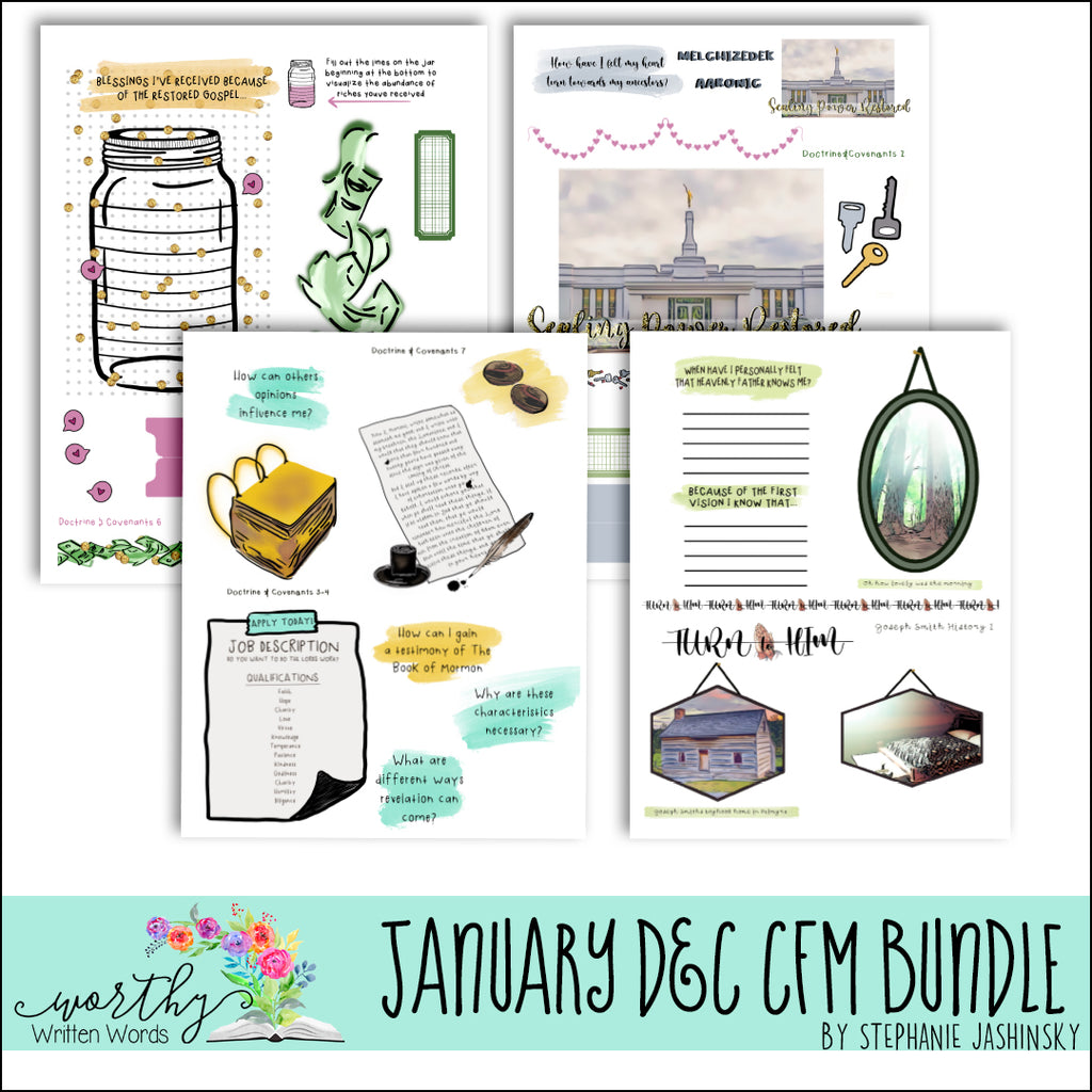 January D&C Come Follow Me Bundle
