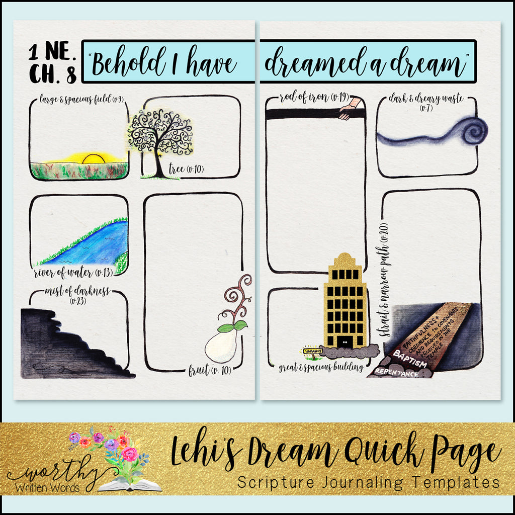 Already Printed: Lehi's Dream Quick Page Kit