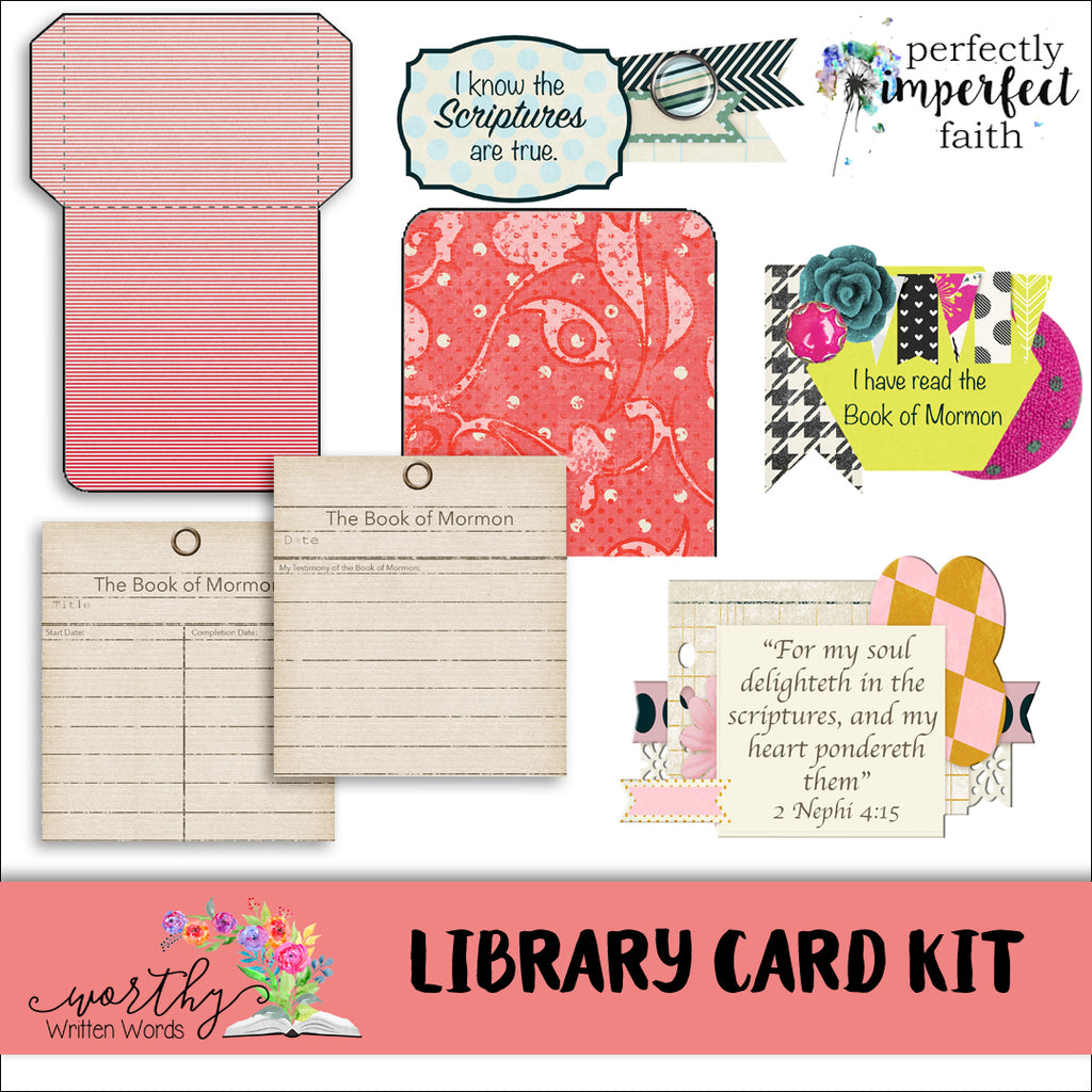 Library Card Kit