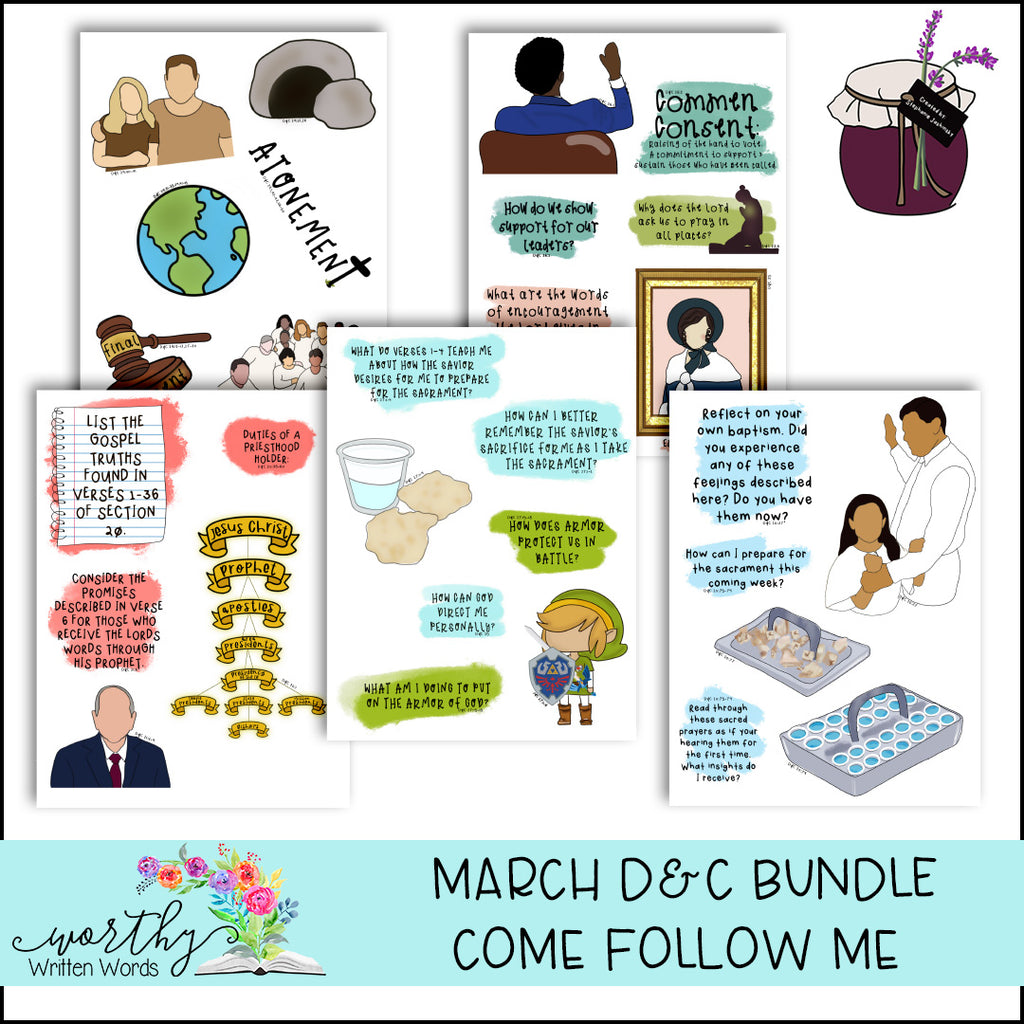March D&C Come Follow Me Bundle