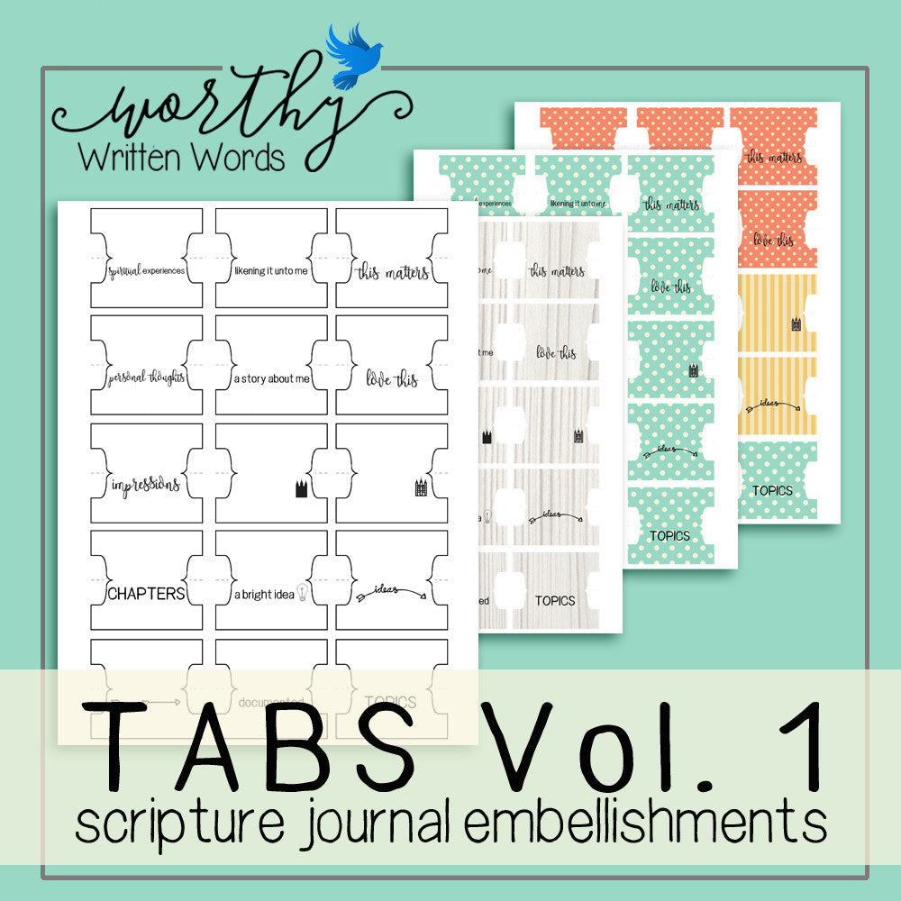 Tabs Volume 1 - Worthy Written Words