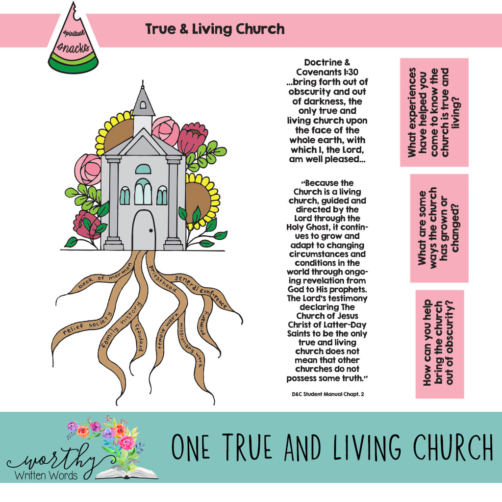 One True and Living Church