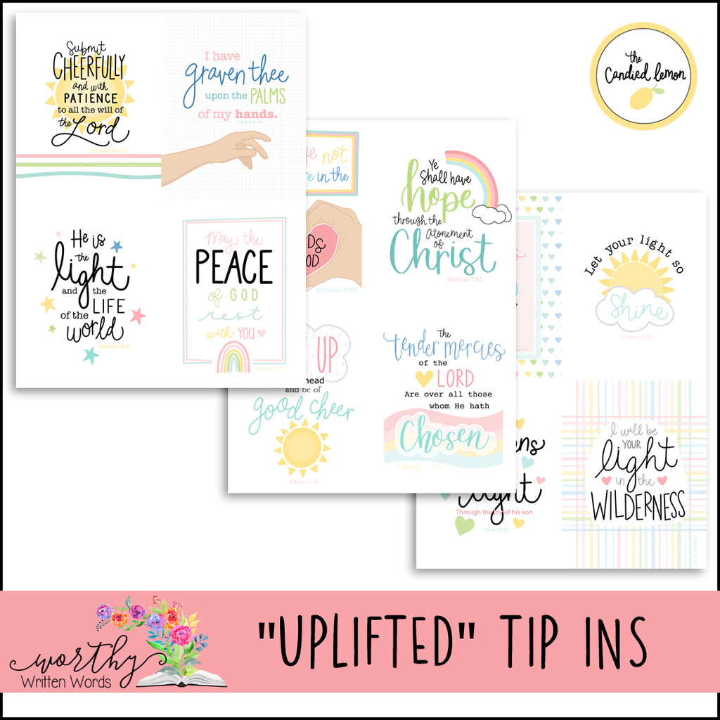 Uplifted Tip Ins