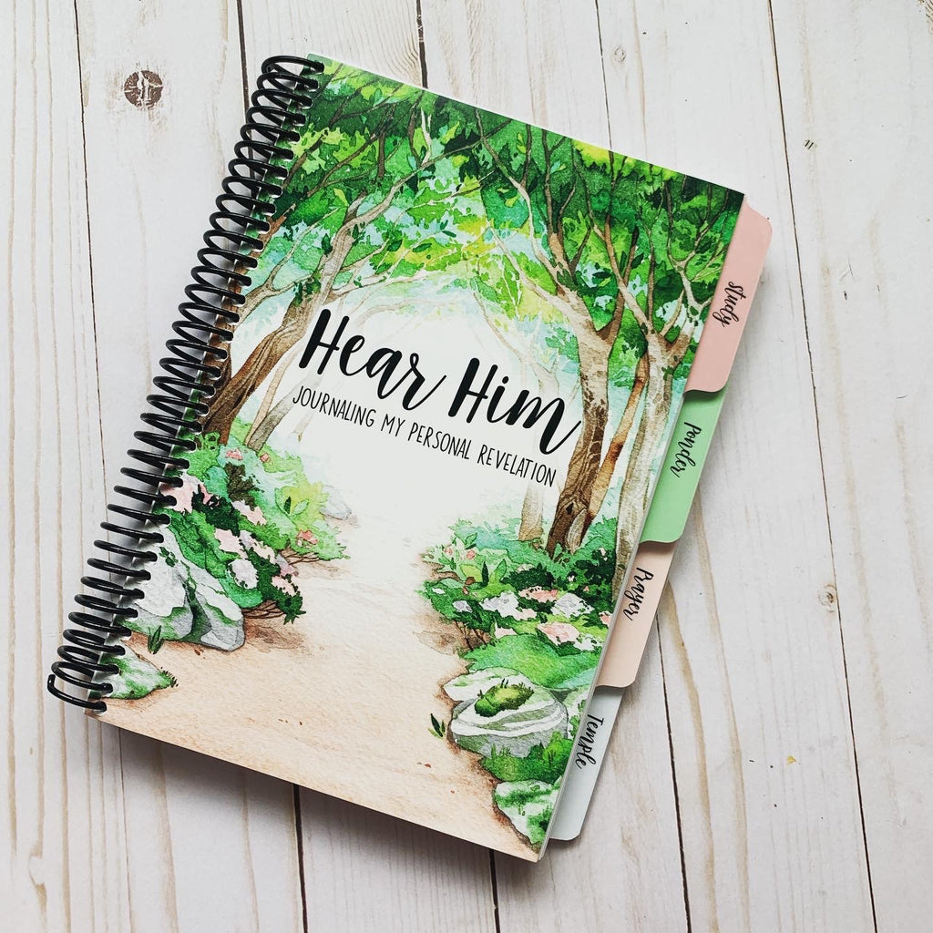 Hear Him: Journaling My Personal Revelation