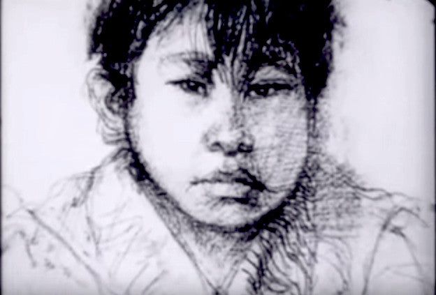 "Canadian Artist Created ""Drawn Film"" During Visit to First Nation Residential School"
