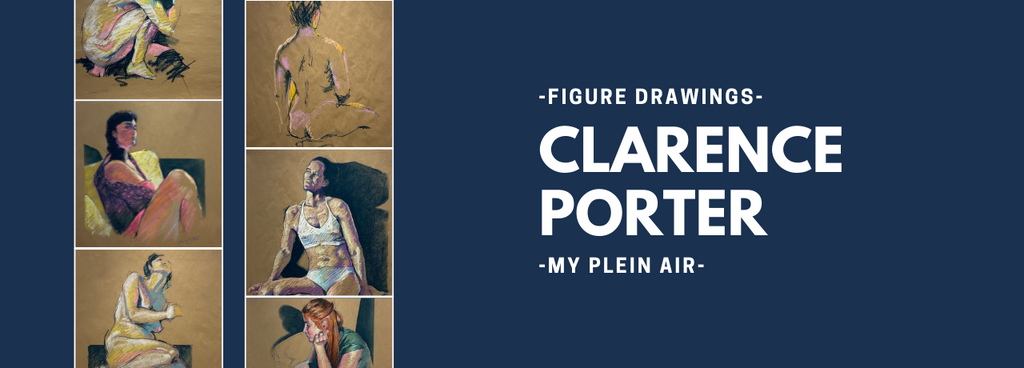 Clarence Porter Figure drawings