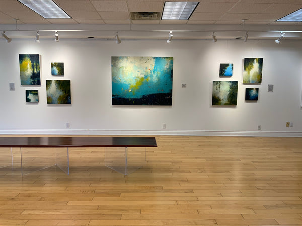 Installation of Ebb & Flow at Earls Court Gallery
