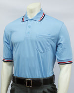USA300- Short Sleeve Powder Blue Umpire Shirts w/ RWB Trim