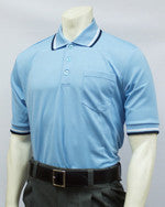 USA300- Short Sleeve Powder Blue Umpire Shirts w/ PB/NY/WH Trim