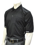 USA310 MAIS Short Sleeve BLACK Umpire Shirts w/ WHITE Trim & MAIS Logo