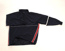 BBS323 Convertible Umpire Jacket Navy w/ RWB