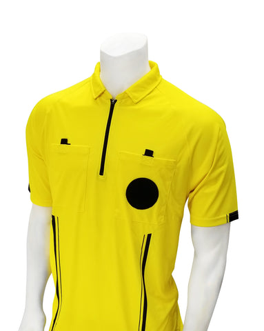SOC900 YELLOW - S/S SOCCER OFFICIALS JERSEY