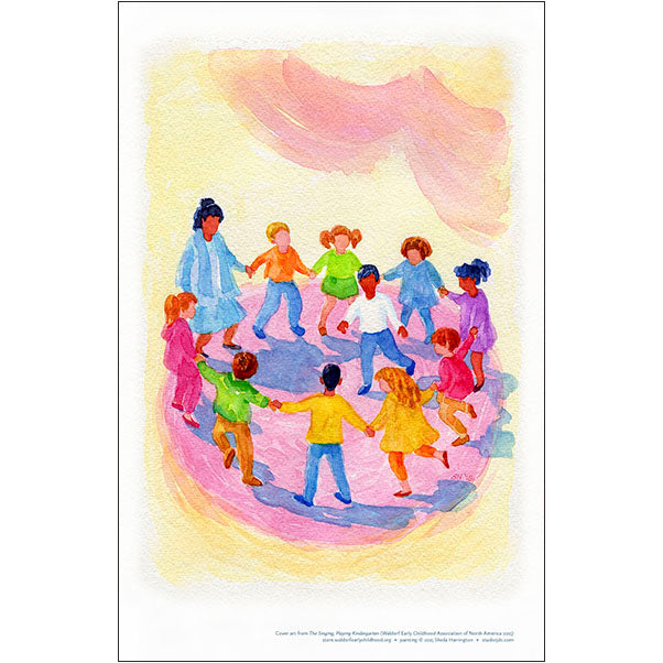 The Singing, Playing Kindergarten - WECAN Cover Art Prints for Home and Classroom