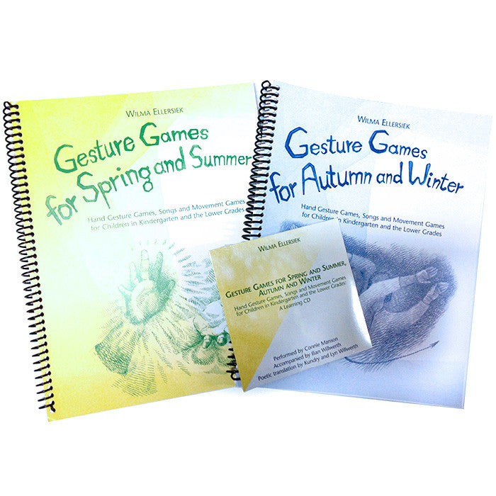 Gesture Games Two-Book and CD Set