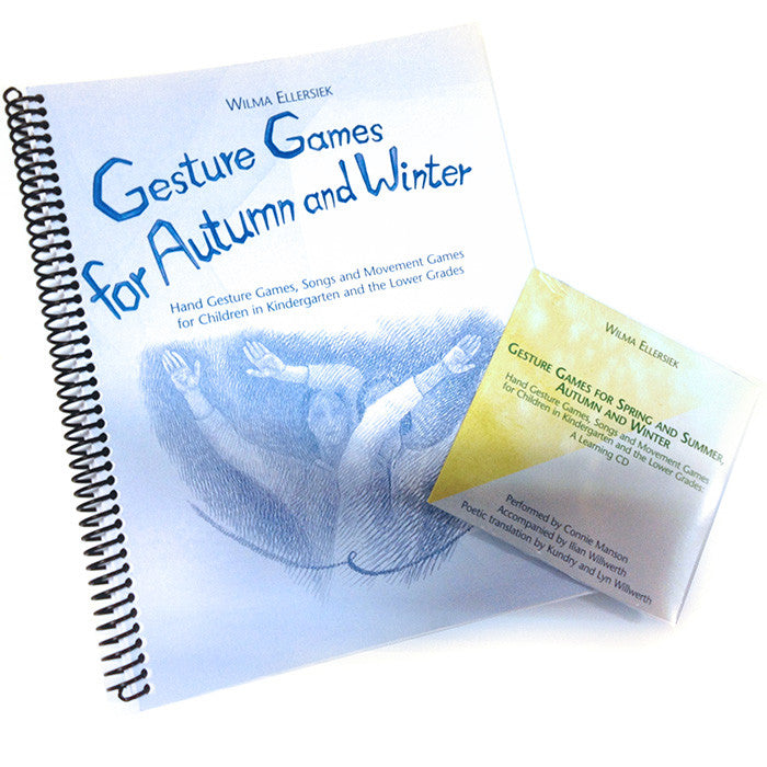 Gesture Games for Autumn and Winter with Companion CD