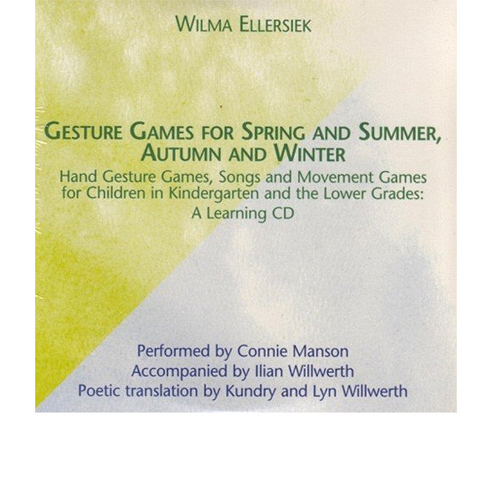Gesture Games for Spring and Summer/Autumn and Winter Companion CD