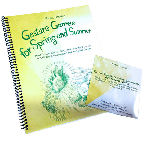 Gesture Games for Spring and Summer with Companion CD