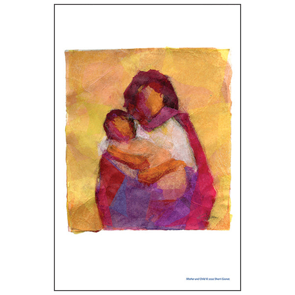 Mother-Child Art Prints for the Home and Classroom