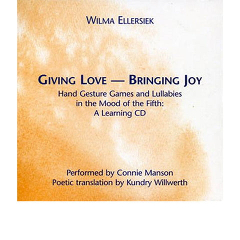 Giving Love, Bringing Joy Companion CD